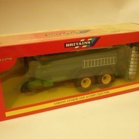 Britains 40718 1:32 Samson Tanker and Slurry Injector with double Disc Cutter