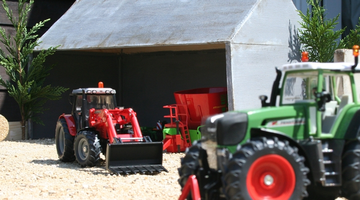 Die cast models to create the perfect model farm