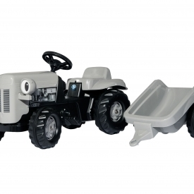Little Grey Fergie Ride-on Tractor