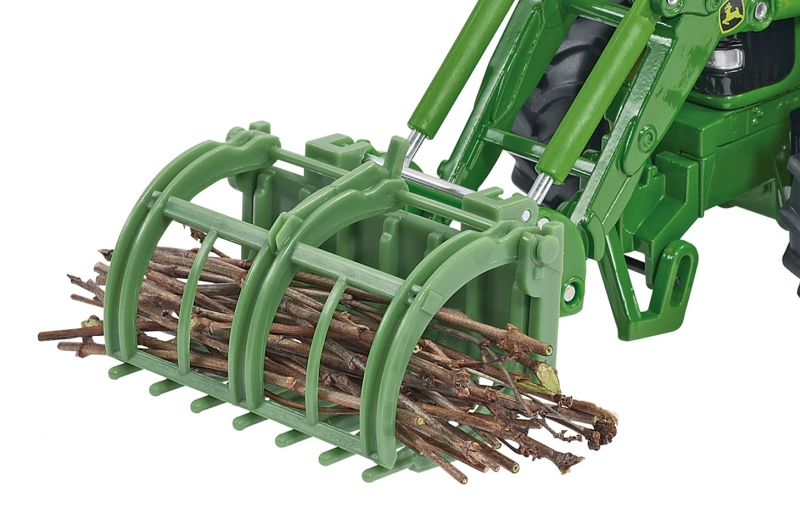 Front Loader Accessories Set Siku 3658 Bressle & Lade Brush Pile Grab Image 1
