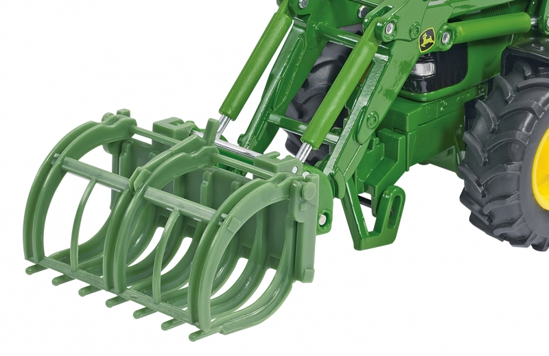Front Loader Accessories Set Siku 3658 Bressle & Lade Brush Pile Grab Image 2