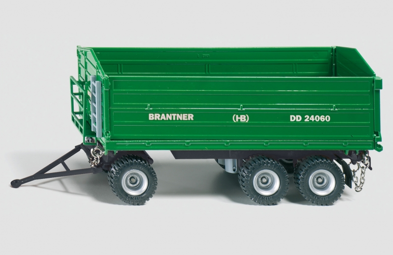 Brantner 3 axled 3 way tipping trailer