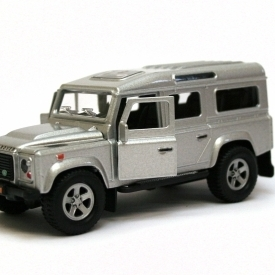 Die Cast Land Rover Defender - Silver